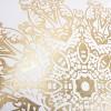 Metallic Medallion Textured Throw Pillow - Rizzy Home® - image 3 of 4