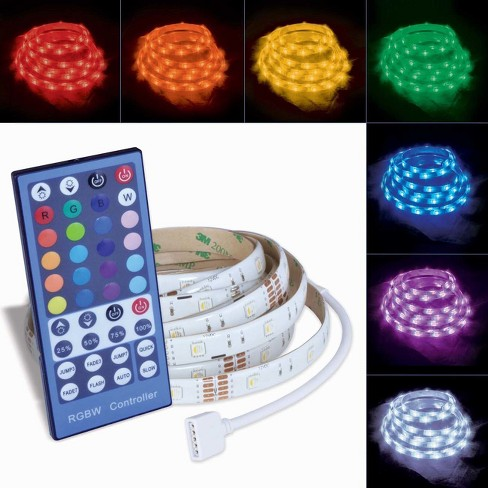 Ecolight Cuttable Rejoinable Tape Light With Remote Led