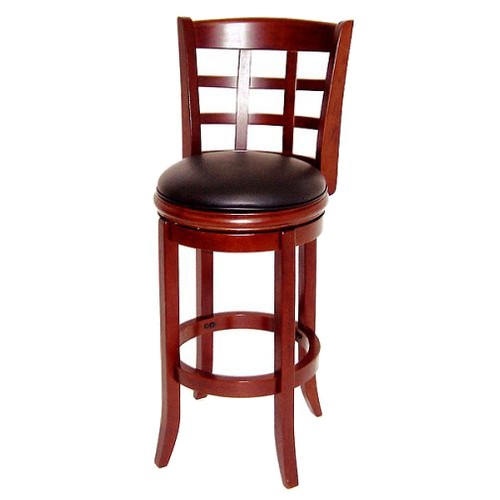 'Boraam Industries Kyoto 29'' Barstool - Cherry, Red'