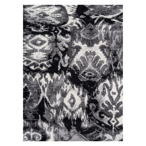 Heavenly Spencer Ikat Design Tufted Accent Rug - Momeni - image 1 of 5