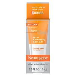 Neutrogena Rapid Clear Acne Eliminating Spot Treatment Gel - 0.5 fl oz