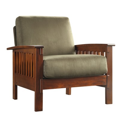sc 1 st  Target & Mission Microfiber Chair - Olive - Inspire Q : Target