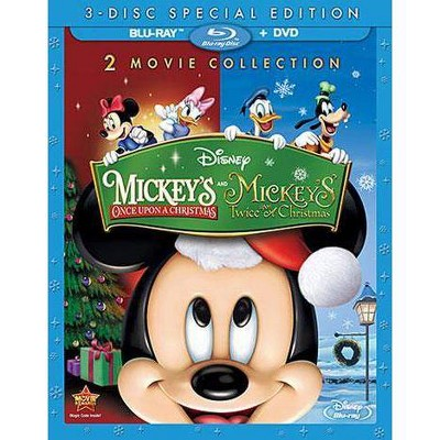Mickey's Once Upon a Christmas/Mickey's Twice Upon a Christmas (Special Edition) (Blu-ray + DVD)