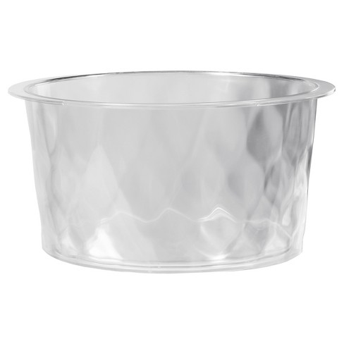 CreativeWare Insulated 6gal Beverage Tub - Clear - image 1 of 3