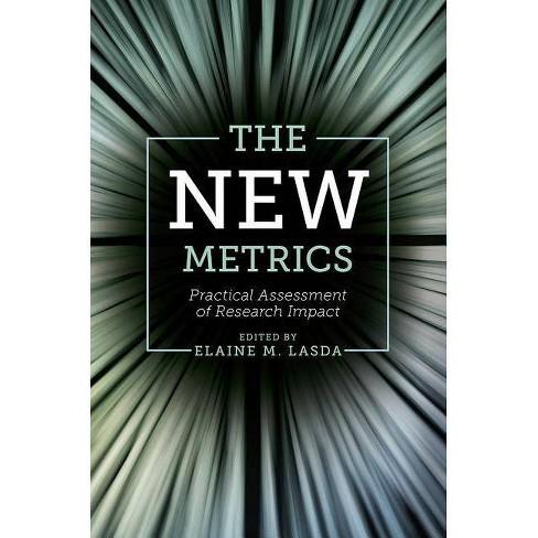 The New Metrics - (Hardcover) - image 1 of 1