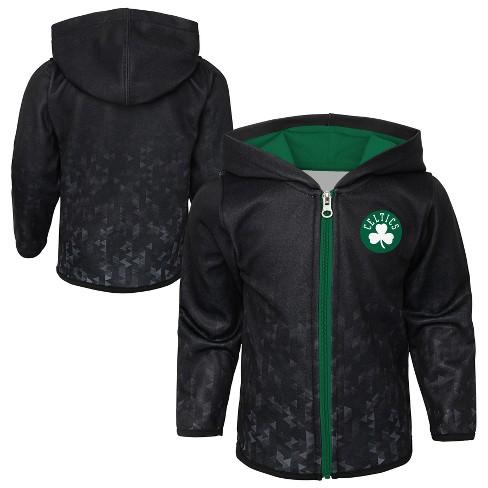 cheap for discount b2e52 426c4 Boston Celtics Toddler Baseline Full Zip Hoodie 2T