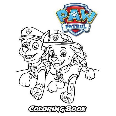Paw Patrol Coloring Book - by Alexa Ivazewa (Paperback)