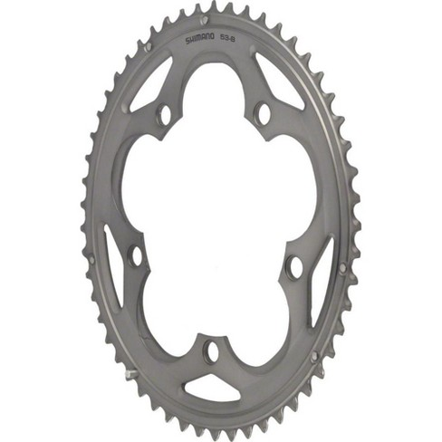 Shimano 105 5700 53t 130mm 10-Speed Chainring Silver - image 1 of 1