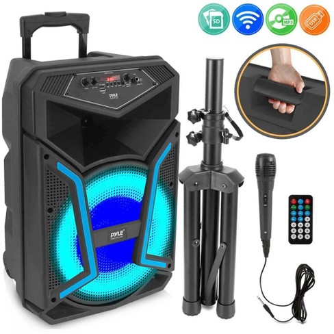 Pyle Pphp122sm 800 Watts Portable, Pyle Outdoor Speakers
