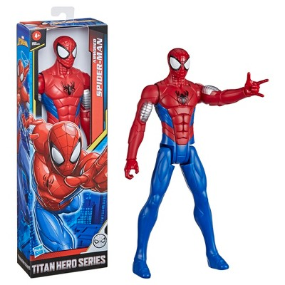Marvel Spider-Man: Titan Hero Series Villains Armored Spider-Man 12-Inch-Scale Super Hero Action Figure