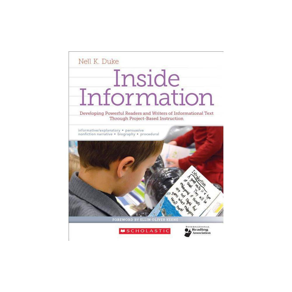 Inside Information - by Nell Duke (Paperback) Discounts