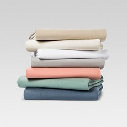 Solid Flannel Sheet Set - Threshold™