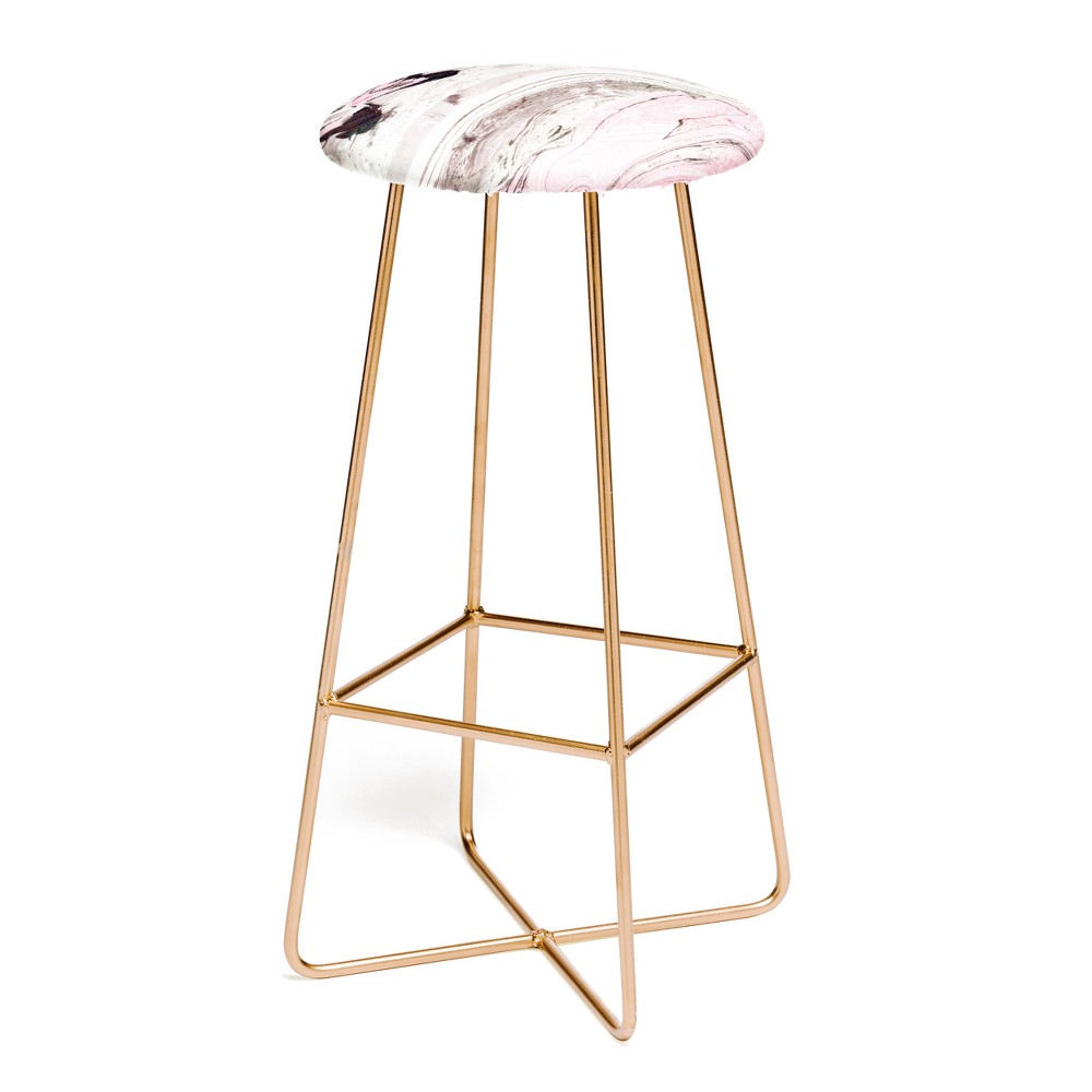 Remarkable Marta Barragan Camarasa Pink And Gray Bar Stool Deny Designs Dailytribune Chair Design For Home Dailytribuneorg