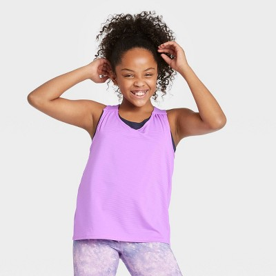 Girls' Double Layer Tank Top - All in Motion™