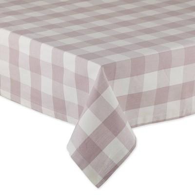 Cotton Buffalo Check Kitchen Tablecloth - Design Imports