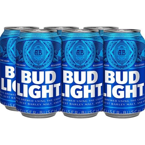 Bud Light Beer - 6pk/12 fl oz Cans - image 1 of 1
