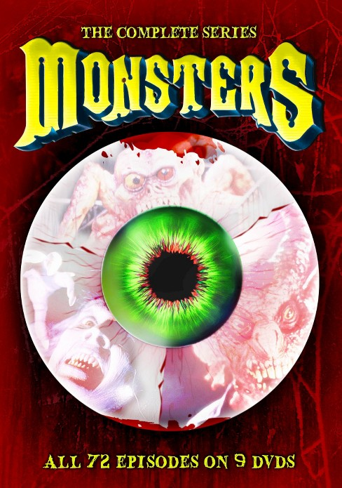 Monsters:Complete series (DVD) - image 1 of 1