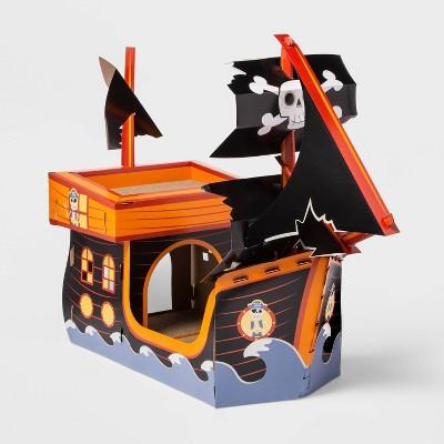 Glow in the Dark Pirate Ship Cat Scratcher - Hyde & EEK! Boutique™