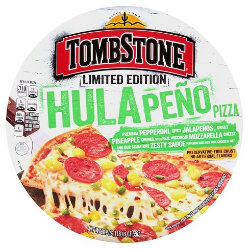 Tombstone Limited Edition Hulapeno Frozen Pizza - 20.9oz - image 1 of 1