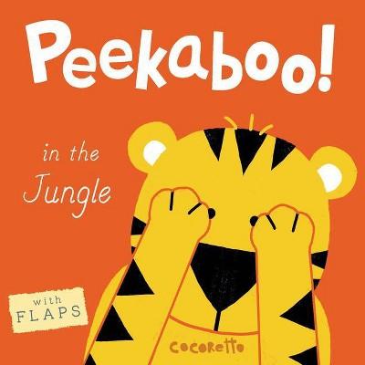 Peekaboo! in the Jungle! - (Board_book)