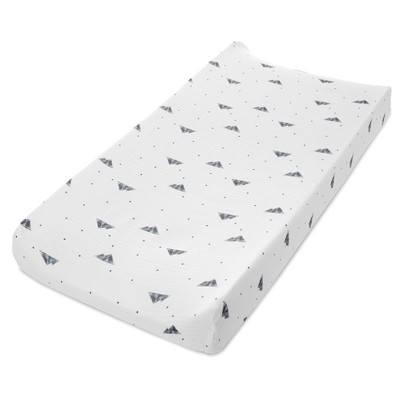 Aden + Anais Essentials Classic Changing Pad Cover Bear Necessities Mountain Geo