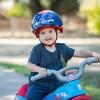 Disney Pixar's Cars Kids' Bike Helmet - Blue/Red - image 4 of 4