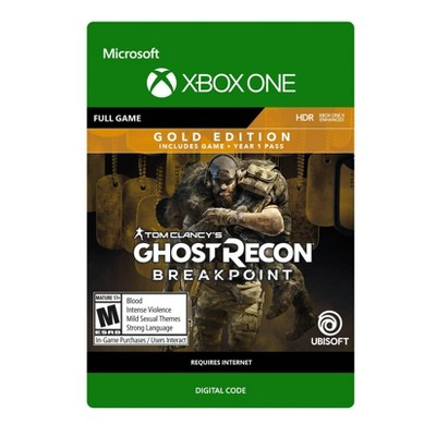 Tom Clancy's: Ghost Recon Breakpoint Gold Edition - Xbox One (Digital)