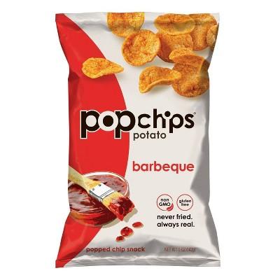 Popchips Barbeque Potato Popped Chip Snack - 5oz