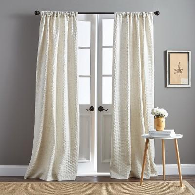 95  Positano Poletop Curtain Panel Natural