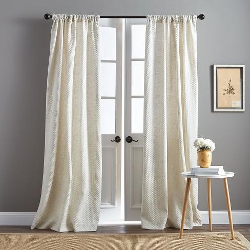 Positano Curtain Panel Natural - image 1 of 3