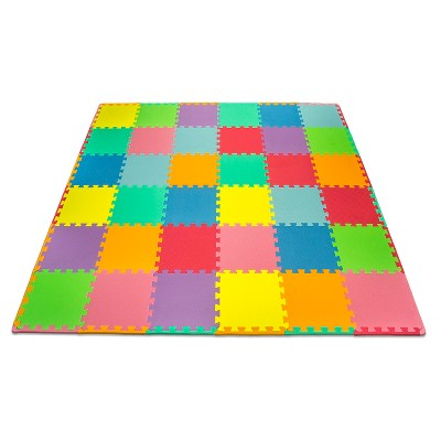 Matney Foam Mat Puzzle Pc Play Mat Set - 36 Tile Pc and Borders