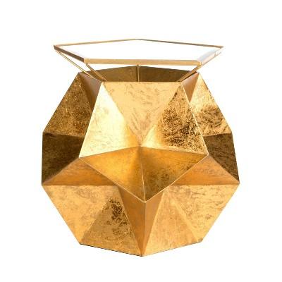 Ernie Side Table Gold - Safavieh