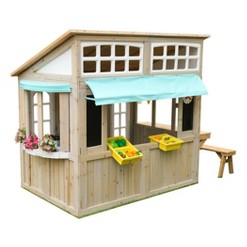 KidKraft Meadow Lane Market Playhouse