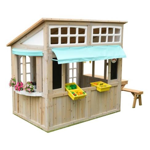 KidKraft Meadow Lane Market Playhouse - image 1 of 4