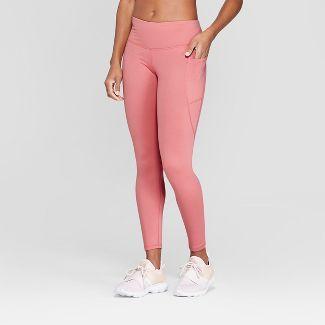 Women's Studio Mid-Rise Leggings - C9 Champion® Pink S