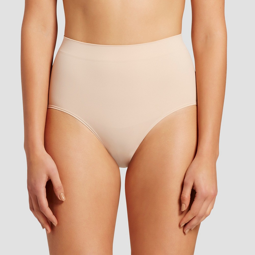 Image of Assets by Spanx Women's All Around Smoother Brief - Soft Nude XL, Women's