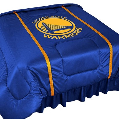 NBA Golden State Warriors Bed Comforter Basketball Team Logo Bedding