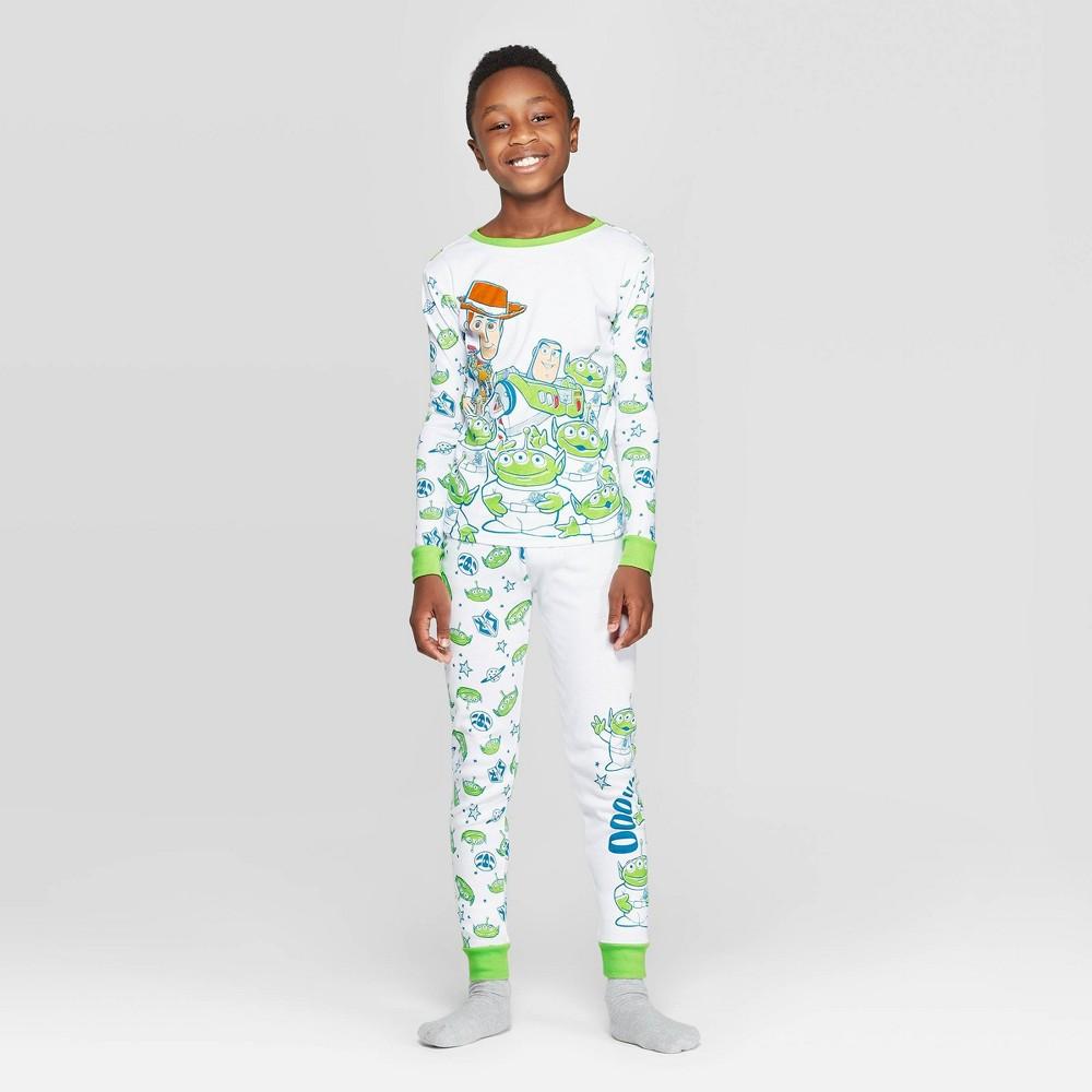 Image of Boys' Toy Story 2pc Pajama Set - White 8 - Disney Store, Boy's
