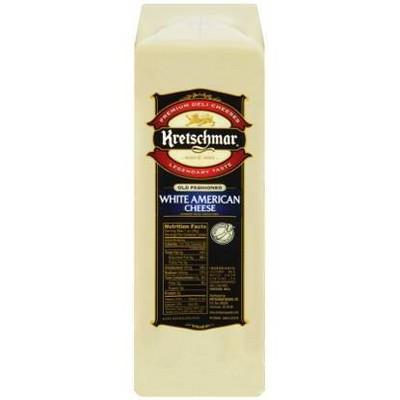 Kretschmar White American Cheese - price per lb