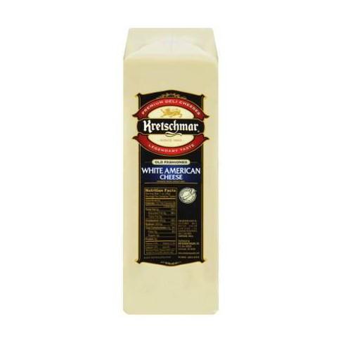 Kretschmar White American Cheese - price per lb - image 1 of 3