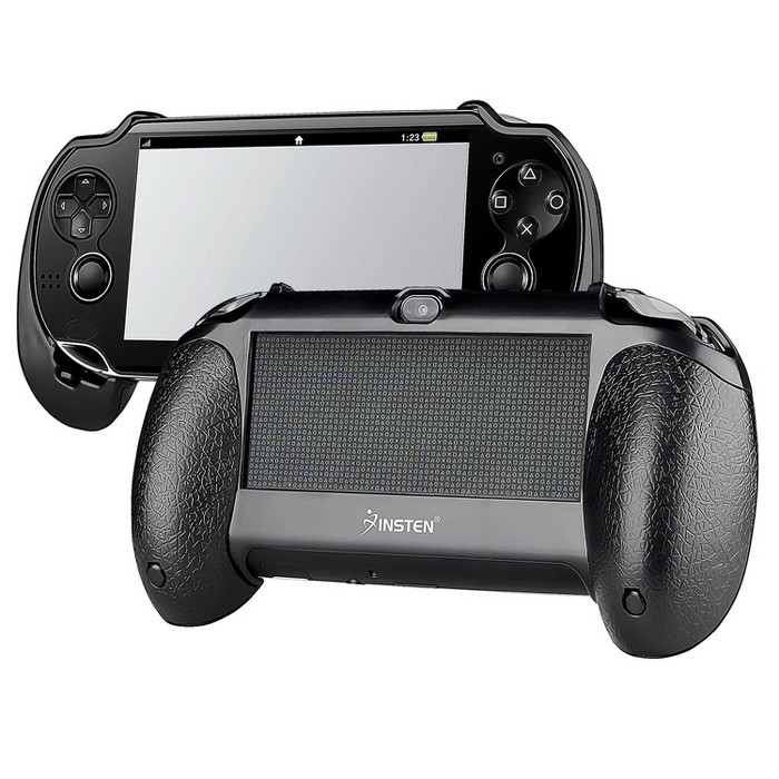 INSTEN Hand Grip Compatible With Sony PlayStation Vita, Black : Target