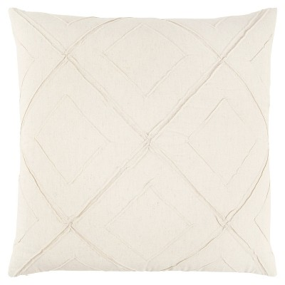 """20""""x20"""" Geometirc Polyester Filled Pillow - Rizzy Home"""
