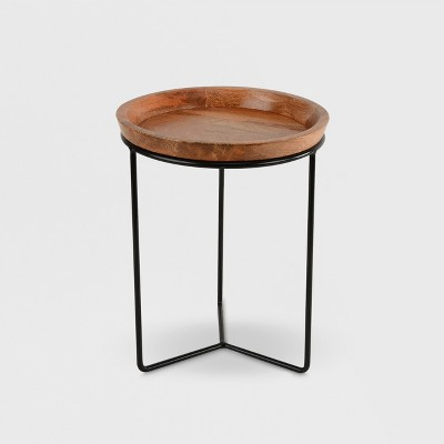 Plant Stand Black & Wood - Smith & Hawken™