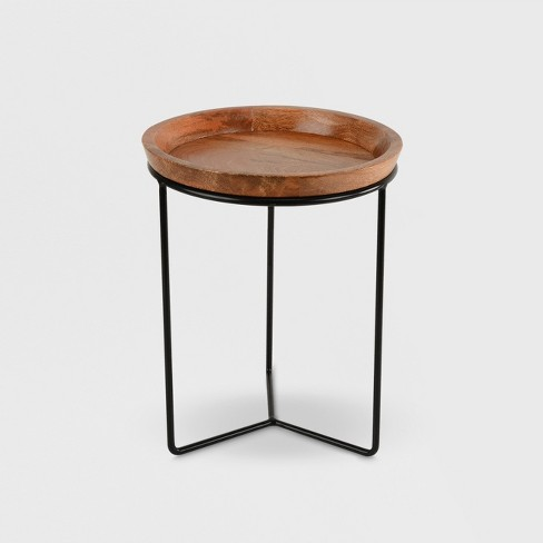 Plant Stand Black Wood Smith
