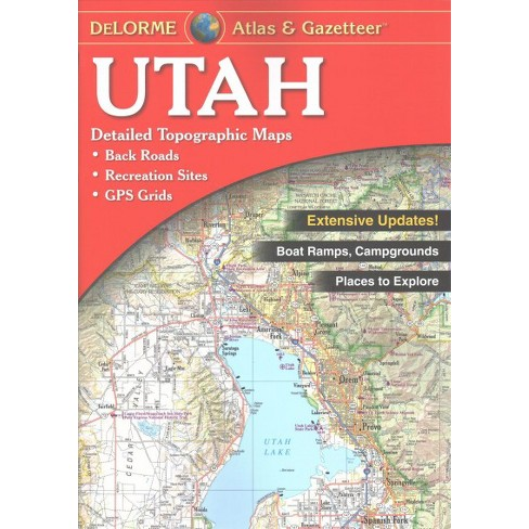 Utah Atlas Gazetteer Paperback Target