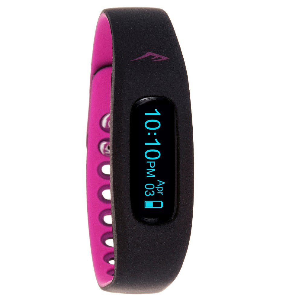 Image of Everlast Wireless Activity Tracker Watch Black, Pink