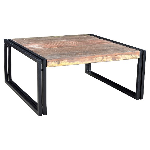 Rustic Reclaimed Wood Coffee Table Natural - Timbergirl - image 1 of 8