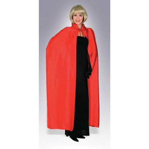 "Forum Novelties 56"" Red Adult Costume Cape - image 1 of 1"