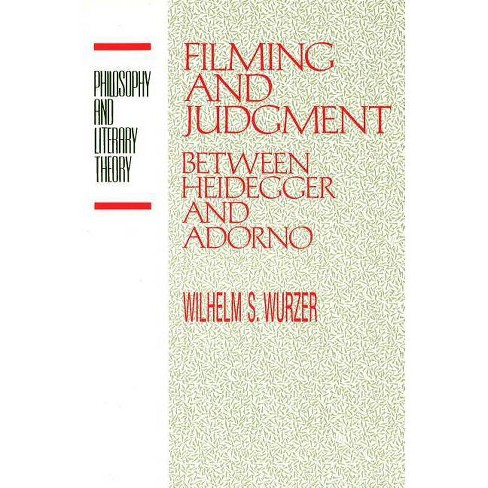 Filming and Judgment - (Philosophy and Literary Theory) by  Wilhelm S Wurzer (Paperback) - image 1 of 1