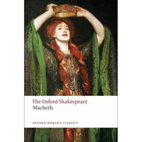 The Tragedy of Macbeth - (Oxford World's Classics (Paperback)) by  William Shakespeare (Paperback) - image 1 of 1